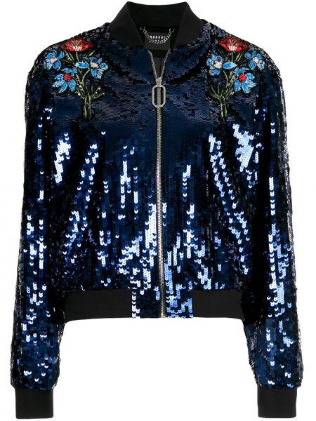 Синяя куртка с манжетами Markus Lupfer