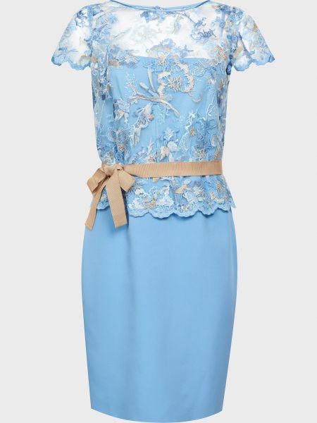 Шелковое платье на молнии с подкладкой Luisa Spagnoli