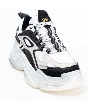 Кожаные черные кроссовки Vensi