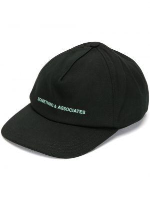 Bawełna baseball czarny czapka baseballowa Off-white