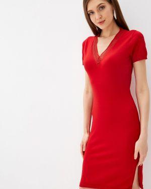 Платье прямое красный Love Republic