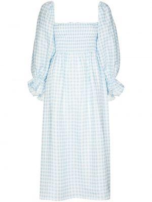 Biała sukienka midi Sleeper