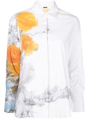 Хлопковая рубашка - белая Adam Lippes