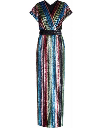 Вечернее платье с декольте макси Alexander Terekhov