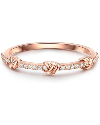 Różowy pierścionek Glanzstücke München