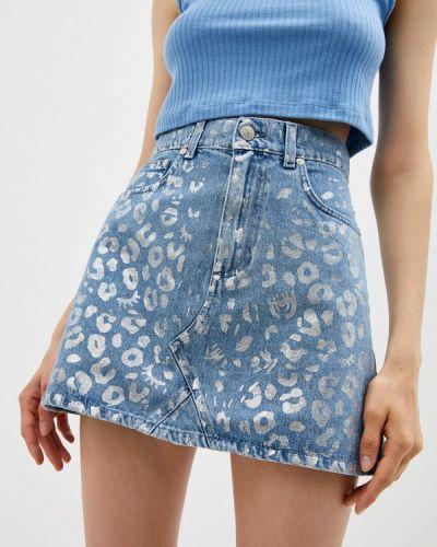 Джинсовая юбка Chiara Ferragni Collection