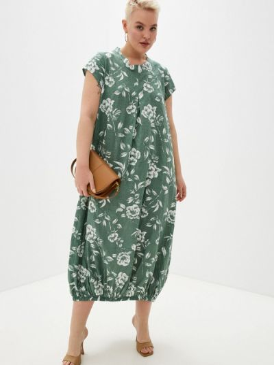 Зеленое повседневное платье Mankato
