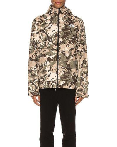 Коричневая куртка с капюшоном с манжетами The North Face