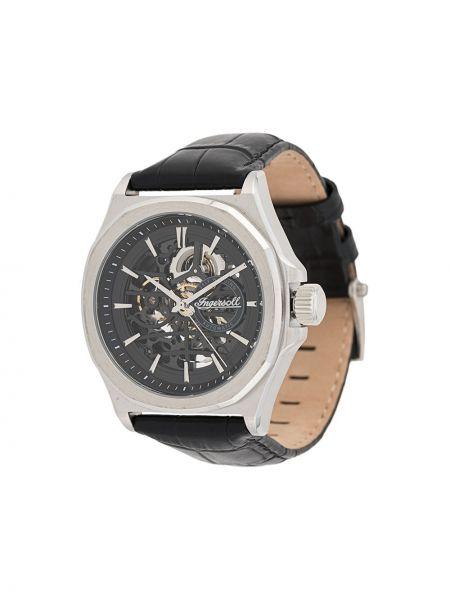 Zegarek na skórzanym pasku - czarny Ingersoll Watches