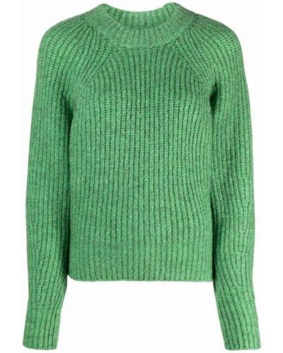 Zielony sweter Isabel Marant