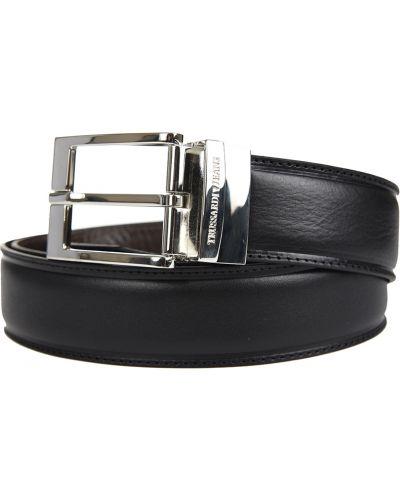 Ремень черный Trussardi Jeans