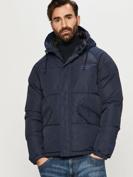 Стеганая куртка - синяя Jack & Jones