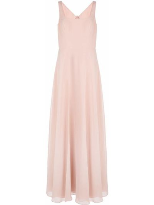 Платье с квадратным вырезом - розовое Marchesa Notte