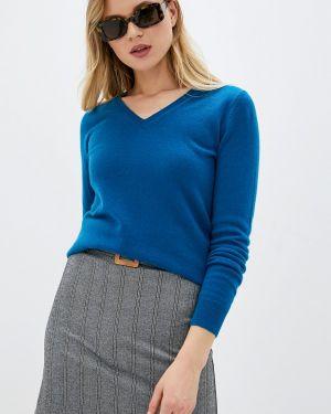 Пуловер - синий Manode