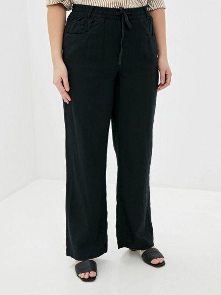 Свободные брюки расклешенные черные Marks & Spencer