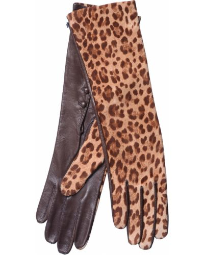 Кожаные перчатки замшевые Georges Morand