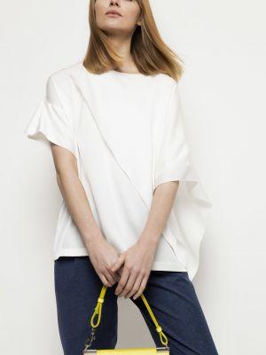 Bluzka asymetryczna Deni Cler Milano