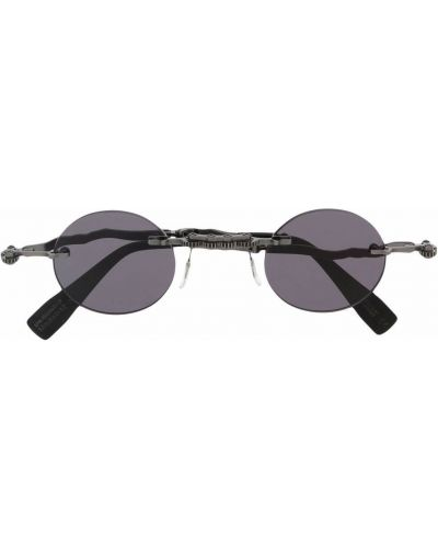Солнцезащитные очки металлические - черные Kuboraum