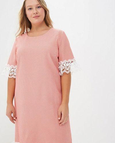 Коралловое платье Indiano Natural