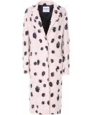 Пальто розовое с принтом Front Street8