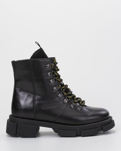 Текстильные ботинки милитари -