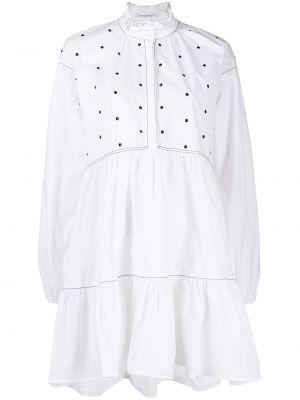 Платье рубашка - белое Philosophy Di Lorenzo Serafini
