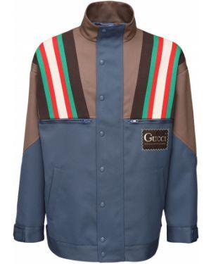 Пиджак с заплатками с манжетами с воротником с подкладкой Gucci