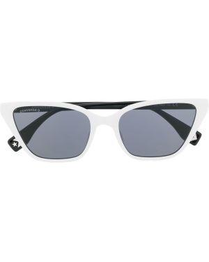Прямые муслиновые солнцезащитные очки хаки Converse