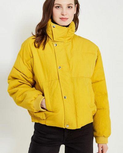 Желтая утепленная куртка Free People
