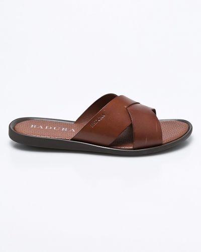 Коричневые сандалии Badura