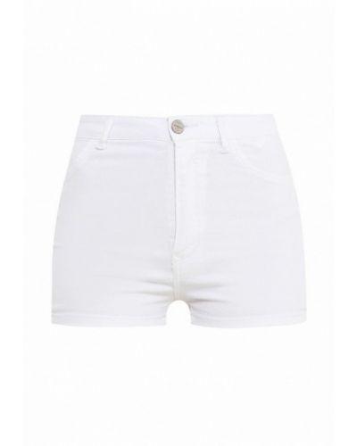 Джинсовые шорты белые Alcott