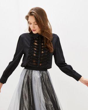Блузка с длинным рукавом черная Care Of You