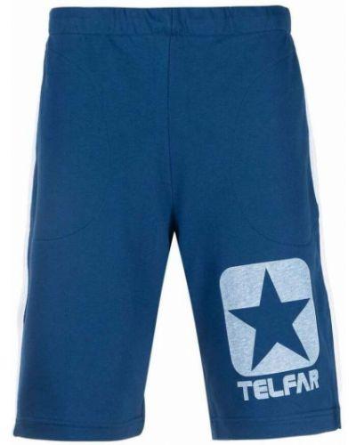 Niebieskie szorty Telfar