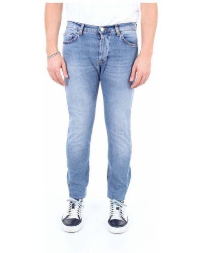 Jeansy bawełniane Aglini