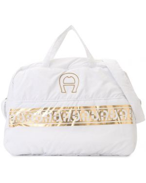 Белая сумка Aigner Kids