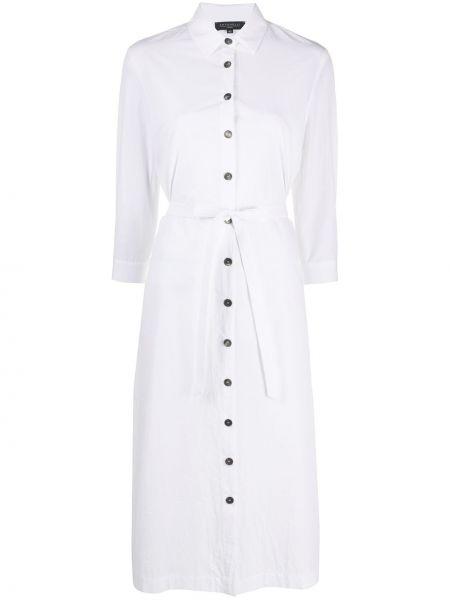 Платье с поясом на пуговицах классическое Antonelli
