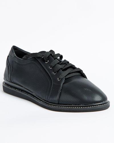 Брендовые черные туфли Meitesi