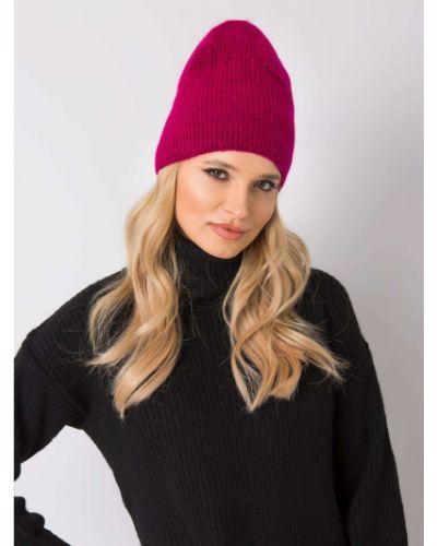 Różowy kapelusz z akrylu Fashionhunters