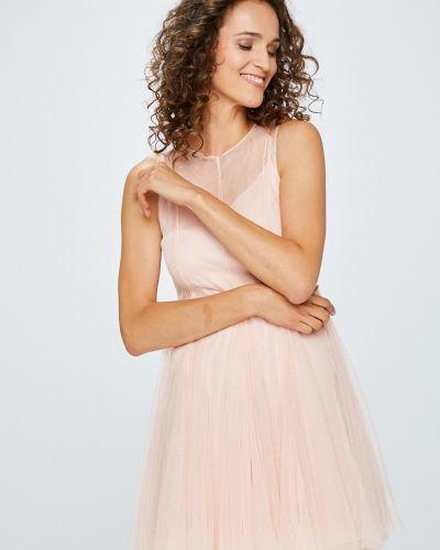 Платье мини однотонное расклешенное Answear