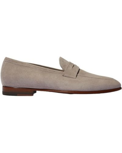 Szare loafers Scarosso