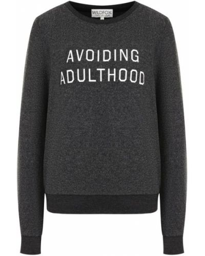 Серый свитер Wildfox