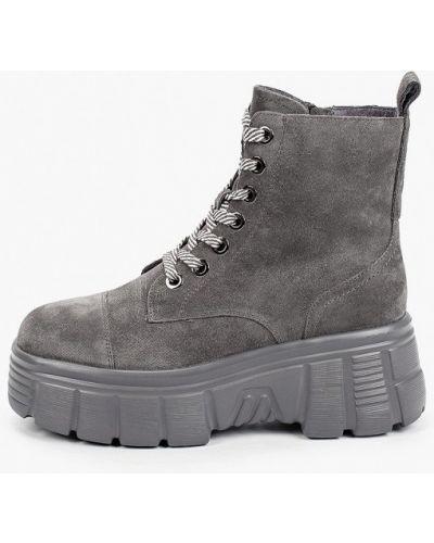 Серые ботинки Graciana