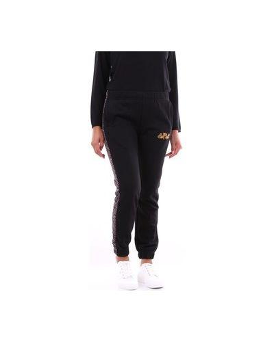 Czarne spodnie Omc