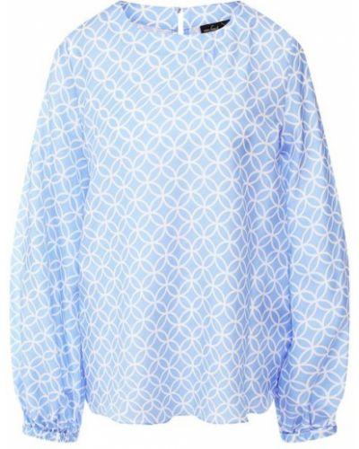 Шелковая блузка - голубая Van Laack