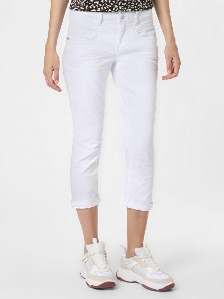 Białe spodnie casual Street One