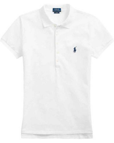 Biała koszulka krótki rękaw Polo Ralph Lauren
