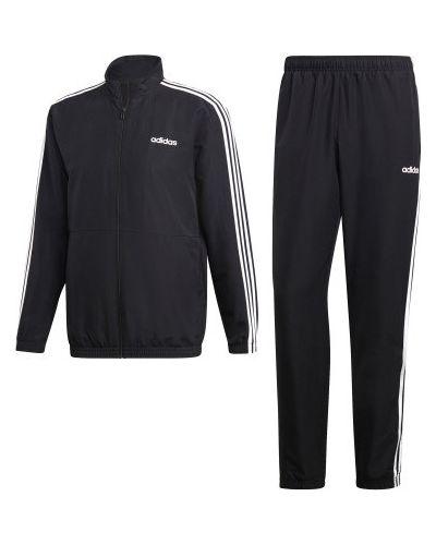 Костюмный спортивный костюм с капюшоном с нашивками Adidas