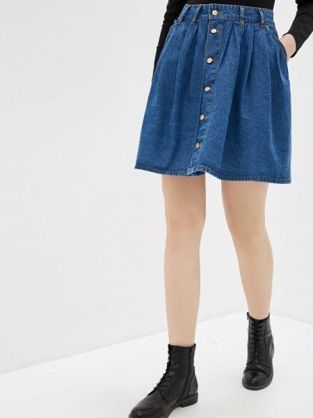 Джинсовое платье синее весеннее Colin's