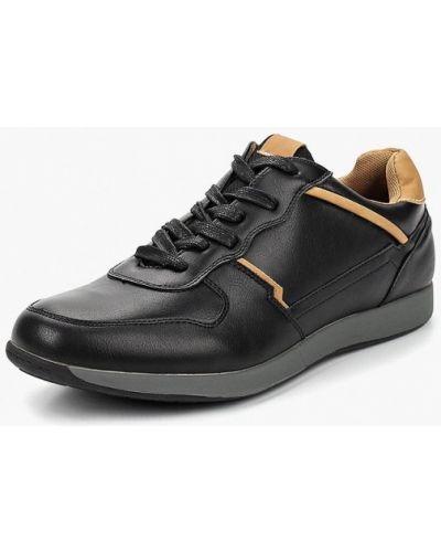 Черные кроссовки низкие Tesoro