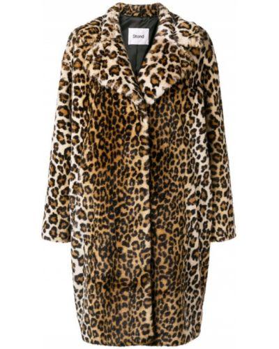 Пальто с капюшоном Stand